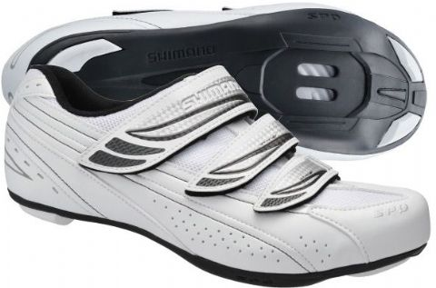 Shimano WR35 SPD Road Shoes Womans White